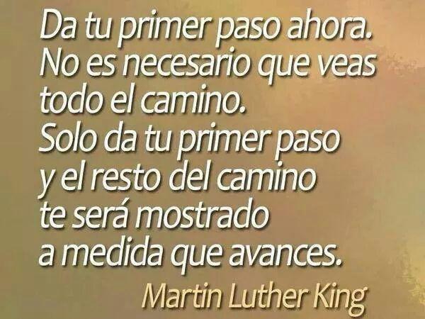 Frases De Líderes Martin Luther King Motivación Para